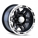 Ion Alloy 133 - Black with Machined Lip