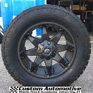 20x9 Fuel Octane D509 Black - LT305/55r20 Nitto Terra Grappler G2