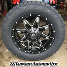20x9 Fuel Offroad Lethal D567 Black - LT285/55r20 Nitto Terra Grappler G2