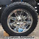 20x10 Fuel Hostage D530 Chrome - LT285/55r20 Toyo Open Country R/T
