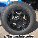 18x9 KMC XD Rockstar 2 811 Black - 275/65r18 Nitto Terra Grappler G2
