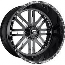 Fuel Forged FF33 - Black and Milled