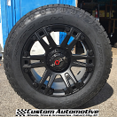 20x9 Worx 803 Beast Satin Black - 275/60r20 Nitto Terra Grappler G2