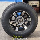 17x9 XD Spy 797 Black - 285/70r17 Nitto Terra Grappler G2