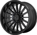XD Whiplash 857 - Gloss Black with Gray Tint
