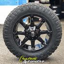 20x9 Fuel Coupler D575 Gloss Black - LT275/65r20 Nitto Ridge Grappler