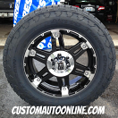 20x8.5 XD Spy 797 Black - LT275/65r20 Nitto Terra Grappler