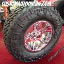 17x9 XD Crank 801 Chrome - 35x12.50r17LT Nitto Trail Grappler