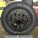 20x9 XD Rockstar III RS3 827 Black - LT295/60r20 Nitto Terra Grappler G2