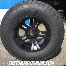 18x9 XD Crank 801 Black - LT295/70r18 Nitto Terra Grappler G2