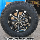 18x9 XD Badlands 779 Black - LT275/70r18 Nitto Trail Grappler