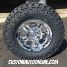 17x9 ATX Series Artillery AX181 Chrome - LT295/70r17 Nitto Trail Grappler
