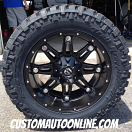 20x10 Fuel Hostage D531 Black - LT295/55r20 Nitto Trail Grappler