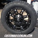 20x10 Fuel Offroad Hostage D531 Black - 305/50r20 Nitto Terra Grappler G2