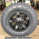 18x9 KMC XD Series Rockstar II RS 2 811 Black - 35x12.50r18 Toyo Open Country AT2 Extreme