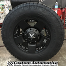17x9 XD Rockstar 775 Black - LT285/70r17 Nitto Terra Grappler G2