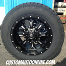 20x10 Fuel Krank D517 Black - 295/60r20 Nitto Terra Grappler G2