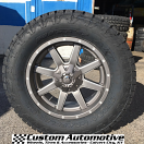 20x9 Fuel Maverick D542 Anthracite and Milled - 35x12.50r20 Nitto Terra Grappler G2