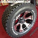 18x9 Dick Cepek DC-2 - LT285/65r18 BFGoodrich AT KO