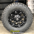 17x9 Fuel Hostage D531 Black - LT305/65r17 BFGoodrich T/A KO2 All Terrain