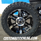 20x9 XD Series 797 Spy Black - LT295/55r20 Nitto Trail Grappler