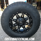 17x9 Fuel Offroad Hostage D531 Black - 285/70r17 Nitto Terra Grappler G2