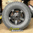 17x9 XD Rockstar II RS2 811 Black - 285/70r17 Toyo Open Country AT3