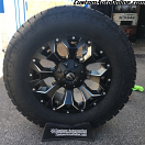 18x9 Fuel Assault D546 Black - LT285/65r18 Nitto Terra Grappler G2