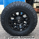 17x9 Fuel Offroad Vapor D560 Black - LT285/70r17 Nitto Ridge Grappler (6 ply)