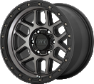 KMC Mesa 544 - Satin Black with Gray Tint