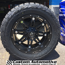 20x10 Fuel Offroad Hostage D531 Black - 33x12.50r20 Toyo Open Country RT