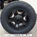 18x9 KMC XD Series Rockstar 2 811 Black - 285/60r18 Nitto Terra Grappler G2