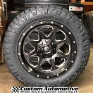 20x9 Fuel Offroad Boost D534 Black - 275/60r20 Nitto Ridge Grappler tires