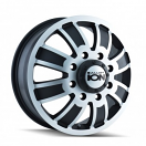 Ion Alloy 166 - Matte Black and Machined Dually