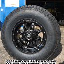 17x9 Fuel Offroad Hostage D531 Black - LT295/70r17 Nitto Terra Grappler G2