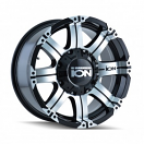 Ion Alloy 187 - Black and Machined