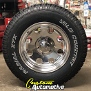17x9 Ultra 164 Polished - LT265/70r17 Wild Country XTX Sport All Terrain