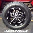 18x9 KMC XD Series Badlands 779 Black - 285/60r18 Nitto Terra Grappler