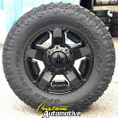 18x9 XD Rockstar II 811 RS 2 Black - 33x12.50r18 Toyo Open Country AT2 Extreme