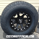 5 - 17x9 XD Addict 798 Black - P285/70r17 Nitto Terra Grappler - Jeep Wrangler
