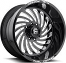 Fuel Forged FF28 - Black and Milled