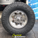 16x8 Ultra 164 Polished - LT285/75r16 Nitto Ridge Grappler