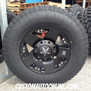 17x9 XD Rockstar 775 Black - 285/70r17 Nitto Terra Grappler G2