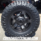 18x9 KMC XD Series Rockstar II RS 2 811 Black - 35x12.50r18 Toyo Open Country MT