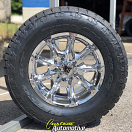18x9 KMC XD Badlands 779 Chrome - 305/60r18 Nitto Terra Grappler G2