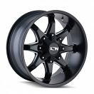 Ion Alloy 181 - Satin Black and Milled