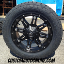 20x9 Fuel Offroad Hostage D531 Black - 305/50r20 Nitto Terra Grappler G2