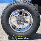 18x10 Moto Metal MO962 Chrome - LT305/65r18 Nitto Terra Grappler G2
