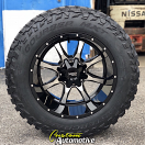 20x12 Moto Metal 970 Gloss Black - 35x12.50r20 Mastercraft Courser MXT