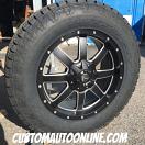 20x9 Fuel Maverick D538 Black - LT275/65r20 Nitto Terra Grappler G2